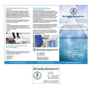 BM Facility Management - Logo, Geschäftsausstattung, Flyer, Website