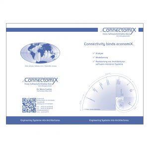 Connectomix - Logo, Geschäftsausstattung, Website, Flyer, Grafiken