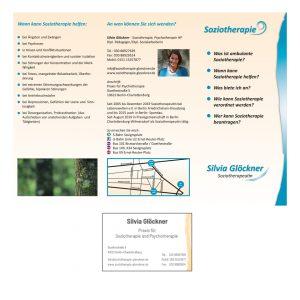 Glöckner Soziotherapie - Logo, Geschäftssausstattung, Flyer